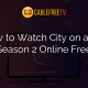 How to Watch City on a Hill Season 2 Online Free