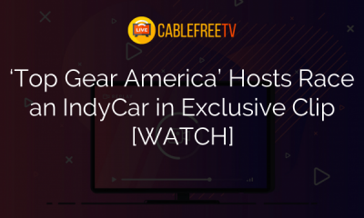 'Top Gear America' Hosts Race an IndyCar in Exclusive Clip [WATCH]